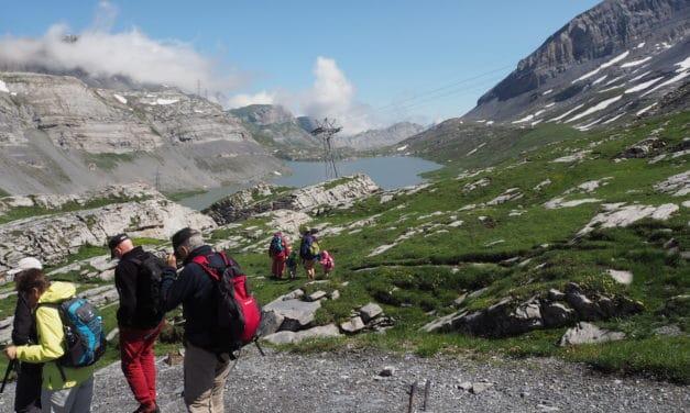 Gebirgsexkursion: Gemmipass – Daubensee – Schwarenbach – Sunnbühl